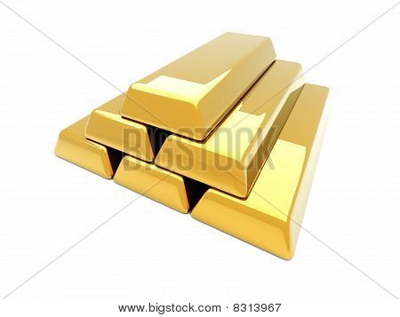 Gold Bar Pyramid