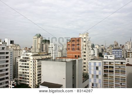 Smog Over Sao Paulo