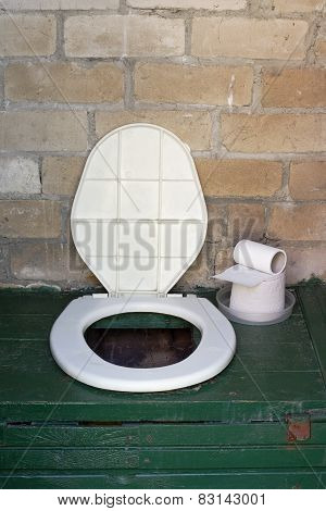 Rural  Toilet Bowl