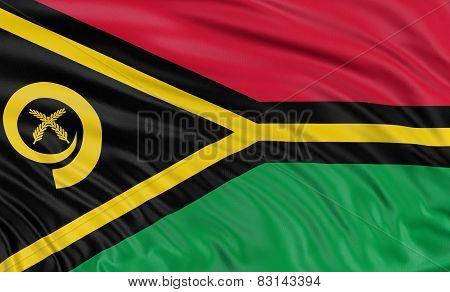3D Vanuatu flag