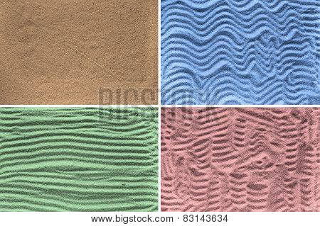 Textures Of Sand