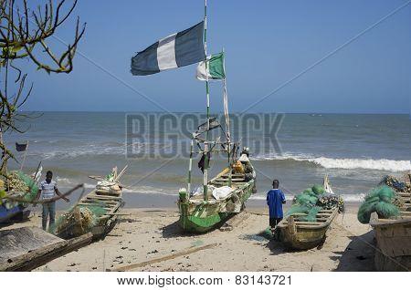 Poor African Fishermens
