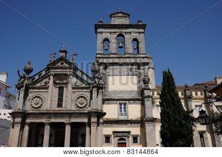 Nossa Senhora Da Graca Church In Evora