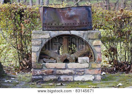 Reto Vintage Barbecue Brazier