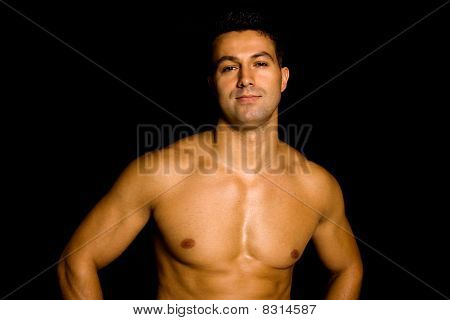 Man With Atletic Body