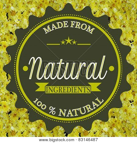 Made From Natural Ingredients