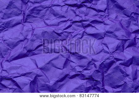 Blue Crumpled Paper, For Backgrounds