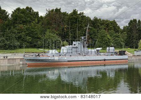 Soviet military patrol boat