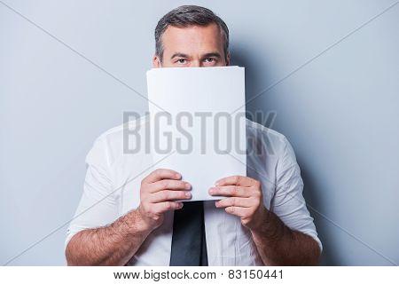 Stuck In Paperwork.