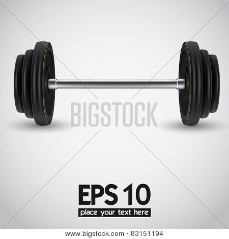 weights. vector illustration