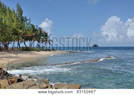 st lucia gros islet in north