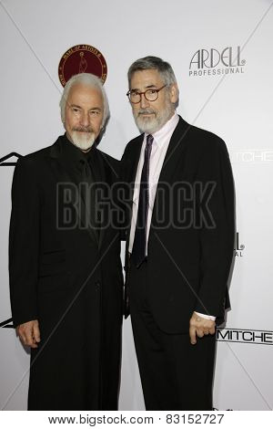 LOS ANGELES - FEB 14: Rick Baker, John Landis at the Make-Up Artists & Hair Stylists Guild Awards at the Paramount Theater on February 14, 2015 in Los Angeles, CA