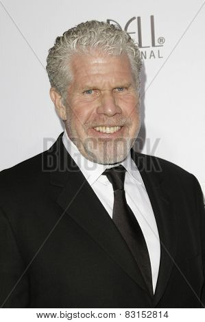 LOS ANGELES - FEB 14: Ron Perlman at the Make-Up Artists & Hair Stylists Guild Awards at the Paramount Theater on February 14, 2015 in Los Angeles, CA