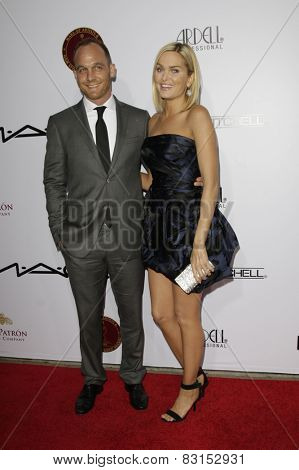 LOS ANGELES - FEB 14: Ethan Embry, Sunny Mabrey at the Make-Up Artists & Hair Stylists Guild Awards at the Paramount Theater on February 14, 2015 in Los Angeles, CA
