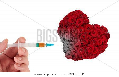 Injecting Drugs Into Heart
