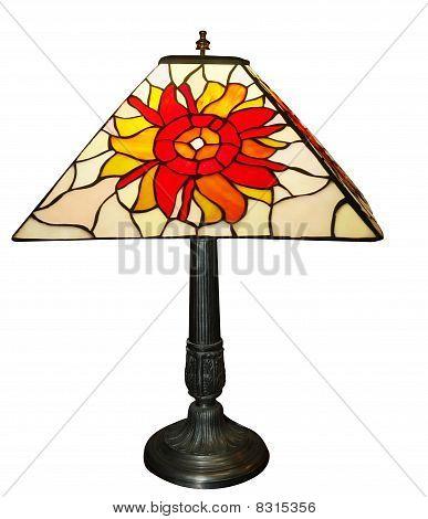 Antique Lead Light Lamp