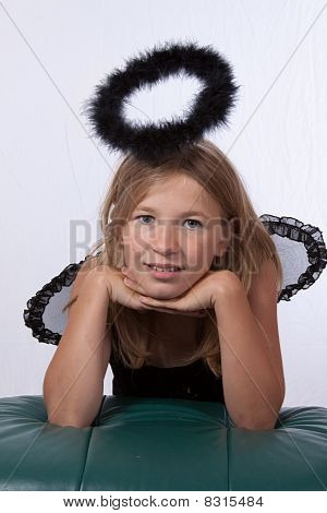 Girl With Black Halo