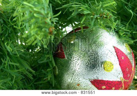 christmas ball and tree