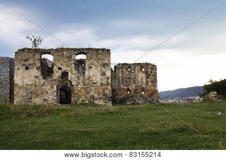 ruins of Pniewski castle