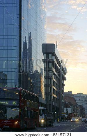 Whitechapel Road evening
