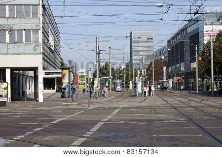Ernst Reuter Alley Magdeburg