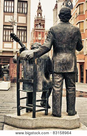 Porrina De Badajoz Sculpture