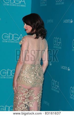 LOS ANGELES - FEB 17:  Janie Bryant at the 17th Costume Designers Guild Awards at a Beverly Hilton Hotel on February 17, 2015 in Beverly Hills, CA