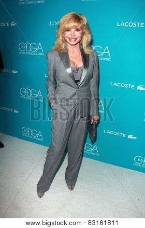 LOS ANGELES - FEB 17:  Loni Anderson at the 17th Costume Designers Guild Awards at a Beverly Hilton Hotel on February 17, 2015 in Beverly Hills, CA