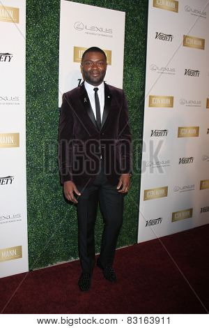 LOS ANGELES - FEB 18:  David Oyelowo at the ICON Mann Power Dinner Party at a Mr C Beverly Hills on February 18, 2015 in Beverly Hills, CA