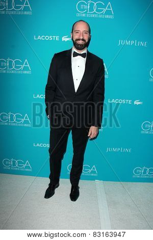 LOS ANGELES - FEB 17:  Tony Hale at the 17th Costume Designers Guild Awards at a Beverly Hilton Hotel on February 17, 2015 in Beverly Hills, CA