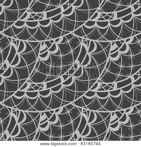 Abstract Seamless Doodle Pattern