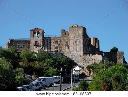 Spanish castle, Castillo de Castellar.