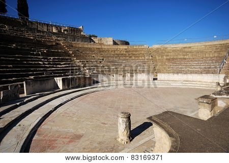 Roman Theatre, Santiponce.