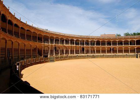 Bullring arena, Ronda.