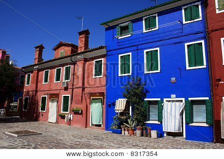 Venice, Colorful Houses Of Burano