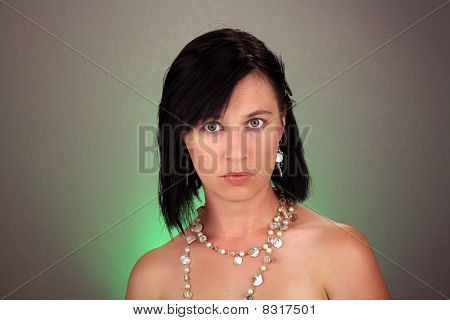Attractive Young Woman Headshot