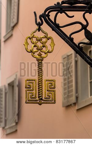 switzerland, zurich, coat of arms locksmith, symbol of craft, small business, jobs