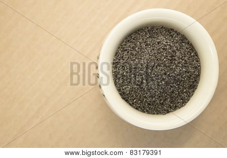 Poppy Seeds In A Cup