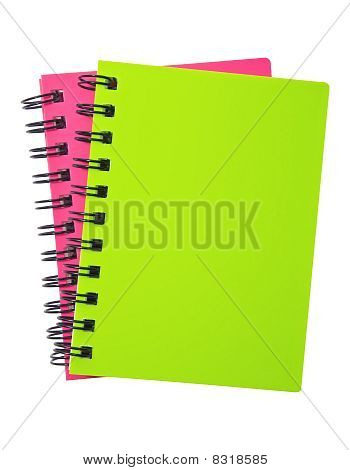 Two spiral Notebooks