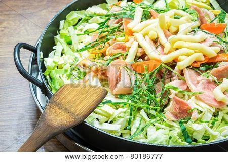 Sukiyaki Korea Food