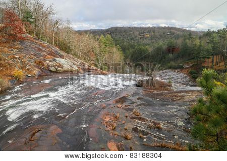 Lake Toxaway Falls