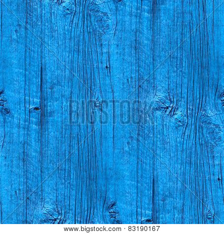 seamless a texture wooden fence old blue wallpaper