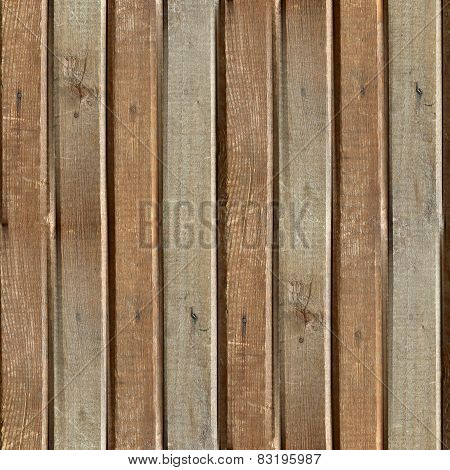 seamless texture of old wood boards background