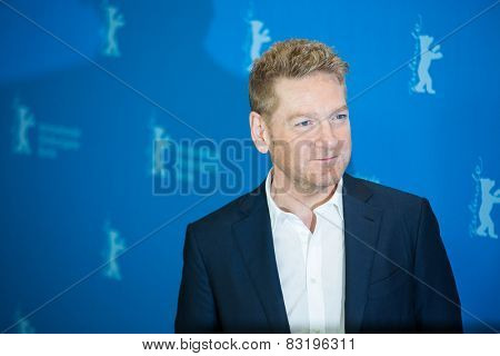 BERLIN, GERMANY - FEBRUARY 13: Director Kenneth Branagh, 'Cinderella' photocall.65th Berlinale International Film Festival at Grand Hyatt Hotel on February 13, 2015 in Berlin, Germany