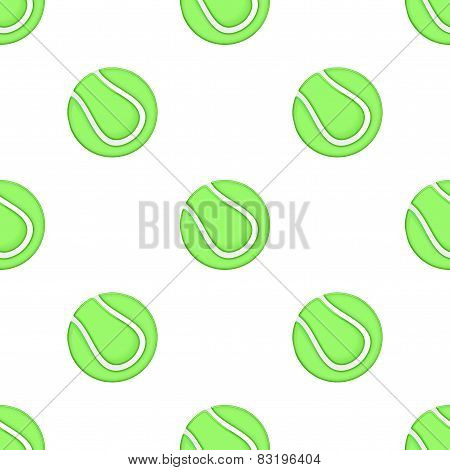 Universal vector tennis seamless patterns tiling. Sport theme with balls.
