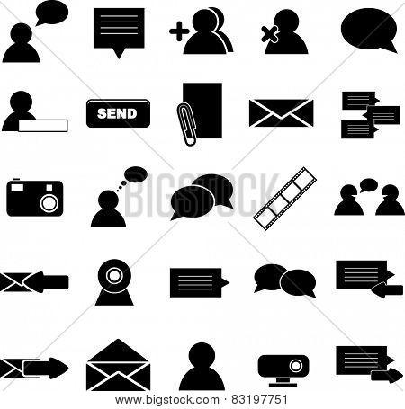 messaging symbol set