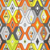pic of motif  - Vector seamless ethnic pattern with Uzbek - JPG