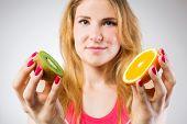 pic of comparison  - Raw fruits comparison - JPG