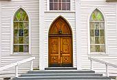 Rural Church Entry