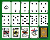 pic of ace spades  - Playing cards - JPG
